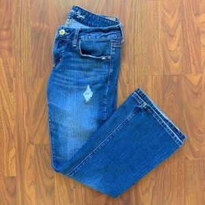 AEO Distressed Boyfriend Jeans